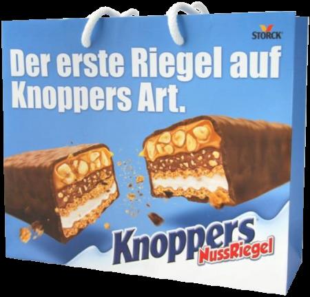 Knoppers Tüte