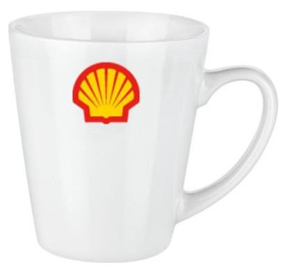 Shell Tasse mit Logo